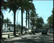 Palma de Mallorca - City traffic Stock Footage