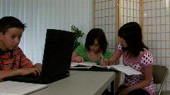School kids1 Stock Footage