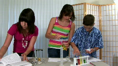 Kids lab 2 Stock Footage