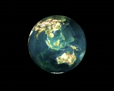 Live 3D Earth Stock Footage
