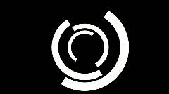 Db mask 02 half circle hd1080 Stock Footage