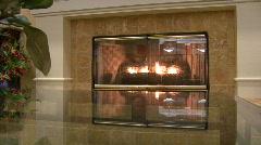 Luxury Fireplace Stock Footage