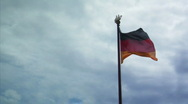 Stock Video Footage of German Flag