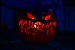Jack-o-lantern Pumpkin Halloween October 31st - stock footage