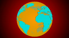 db earth 09 HD1080 - stock footage