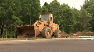 Stock Video Footage of Still Front Loader
