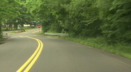 Stock Video Footage of Forest Road