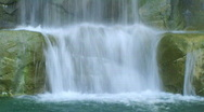 Waterfall Close-up Stock Footage