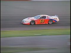 motorsports, WRL stock car race corner - stock footage