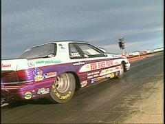 Motorsports, drag race pro class launch dutch tilt Stock Footage