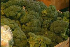 food, brocolli Stock Footage