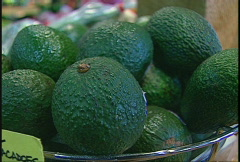 Food, avocados Stock Footage