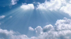 Heavenly clouds time lapse  Stock Footage