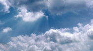Stock Video Footage of Heavenly clouds time lapse
