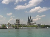 Cologne, Germany Stock Footage