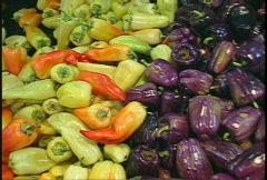 food, veggies Stock Footage
