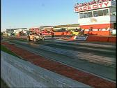 Motorsports, drag racing, top fuel altered race Stock Footage