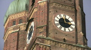 Stock Video Footage of Germany Munich Frauenkirche Church of our Lady