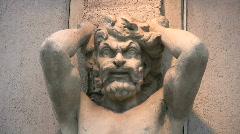 Barock statue Stock Footage
