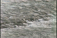 River and waterfall, Thompson River rapids, #1 Stock Footage