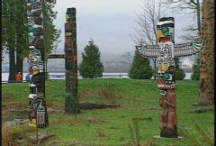 Totem poles, #3 Stock Footage