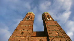 Germany Munich Frauenkirche Church of our Lady Stock Footage