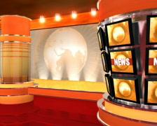Virtual Studio 4 - stock footage