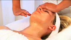 Spa treatment & wellness Stock Footage