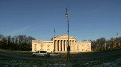 Stock Video Footage of Germany Munich Königsplatz Glyptothek museum