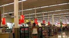 No customers kmart Stock Footage