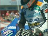 Stock Video Footage of motorsports, super bike rider