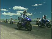 Stock Video Footage of motorsports, super bikes, start race