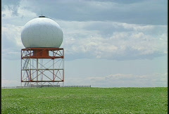 Doppler radar, #9 offset left Stock Footage