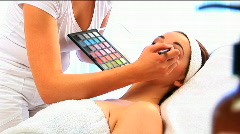 Spa treatment & wellness - stock footage