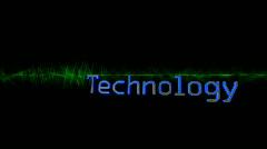 Stinger-technology Stock Footage