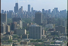 Chicago Skyline Stock Footage