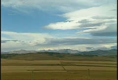 foothills and mountains scenery, #1 Stock Footage
