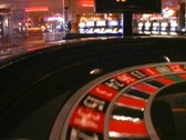 Roulette Spinning Wheel with Ball Las Vegas Atlantic City  Stock Footage