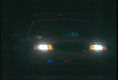 Crime and justice, police car light bar, #1 Stock Footage