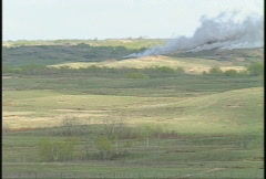 Military, artillery barrage, #2 Stock Footage