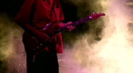 Rock and roll concert Stock Footage