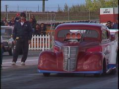 Motorsports, drag racing, promod  launch Stock Footage