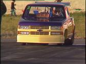 Stock Video Footage of motorsports, drag racing, promod pickup burnout