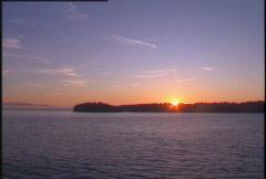 Gulf island sunrise, #7 Stock Footage