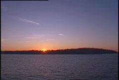 Gulf island sunrise, #5 Stock Footage