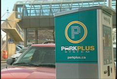 Park plus system unit, advanced parking system Stock Footage