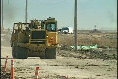 Construction, earthscraper, #1 long lens Stock Footage