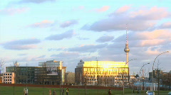 Berlin alex building Stock Footage