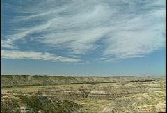 Badlands Horsethief canyon Drumheller #5 Stock Footage
