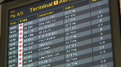 Jm558-Departure Times Stock Footage